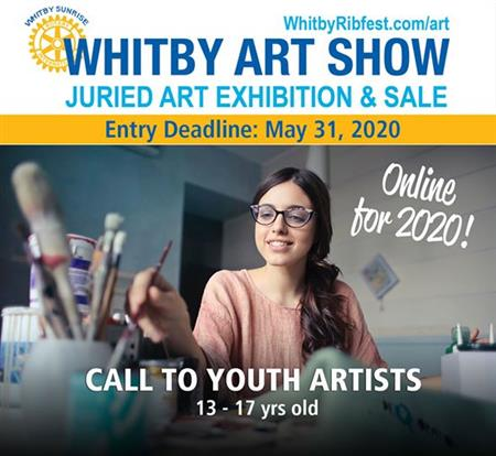 Rotary Club of Whitby Surnrise Art Show 2020