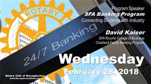 SFA Banking Program - Connecting Students with Industry