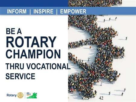 What is Vocational Service?