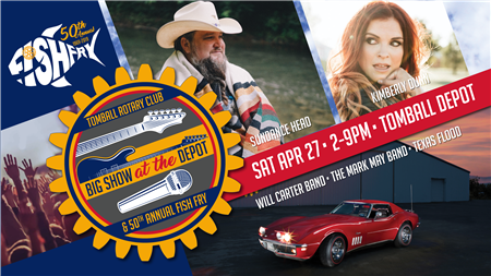 2019 Big Show at the Depot & 50th Annual Fish Fry