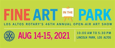 Fine Art in the Park - Los Altos Rotary Art Show