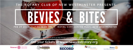 Bevies and Bites New Westminster Tickets Here!