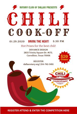 2nd Annual Chili Cook Off