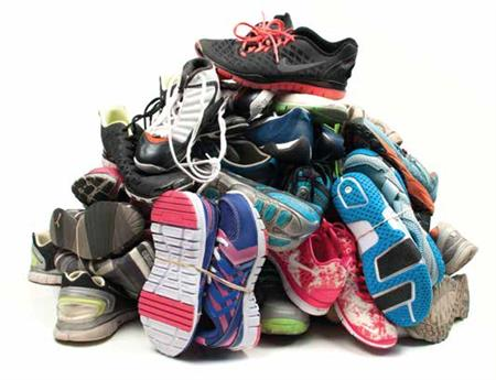 Shoe Drive Challenge to donate gently used shoes