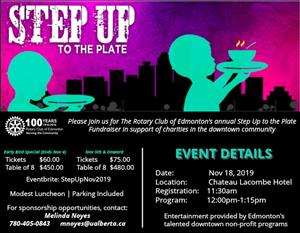 Step Up to the Plate Luncheon