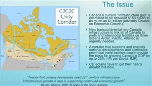 """Time is """"Now to Bridge & Reboot - the Canadian Economy: a proposal for a Sea to Sea to Sea project"""""""