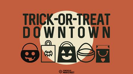 """""""Trick or Treat Downtown"""""""