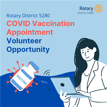 COVID Vaccine Appointment Volunteer Opportunity