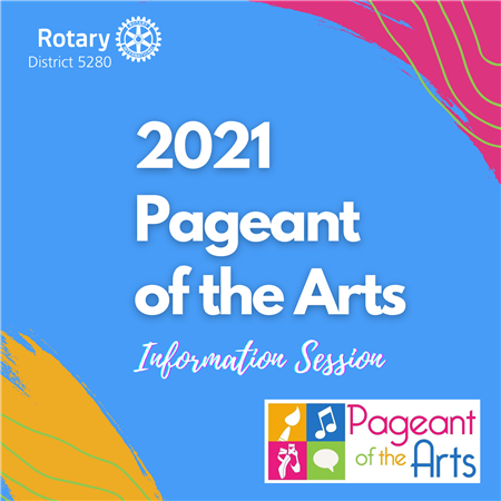 Pageant of the Arts Info Session