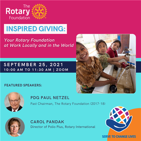 """Annual Foundation Seminar- """"Inspired Giving"""""""
