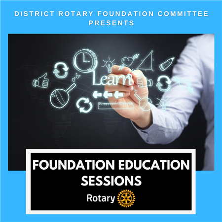 Foundation Education Sessions
