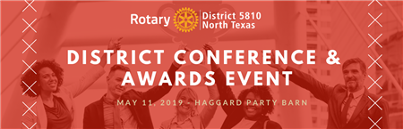 District Conference & Awards Event