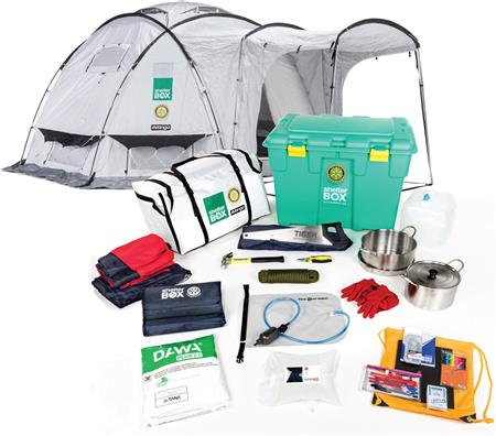 """ShelterBox """"Fill the Box"""" Weekend Display"""