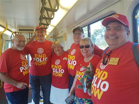 The Great Train Ride for Polio Eradication