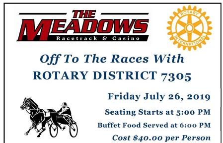 District 7305 Night at The Races