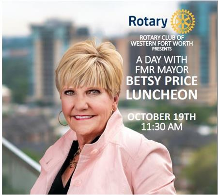 RC Western Fort Worth - Betsy Price Fireside Chat