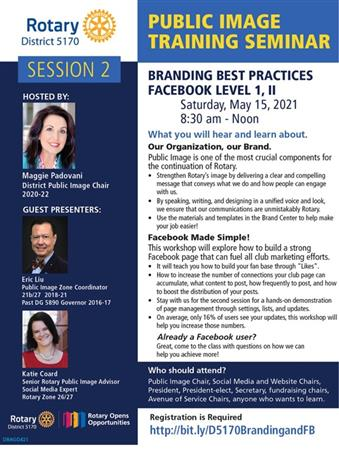 Public Image Seminar - Focus on Branding, Social Media & PR