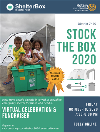 ShelterBox Stock the Box 2020