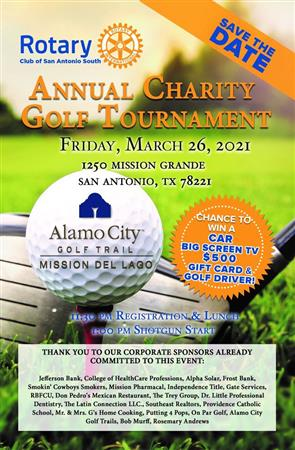 San Antonio South's Charity Golf Tournament