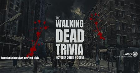 Toronto Skyline - The Walking Dead Trivia Contest