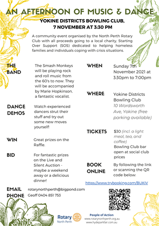 Afternoon of Music & Dance (North Perth)