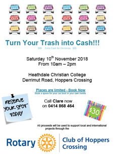 Turn Your Trash Into Cash !!!