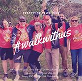 This October, #WalkWithUs for those who can't