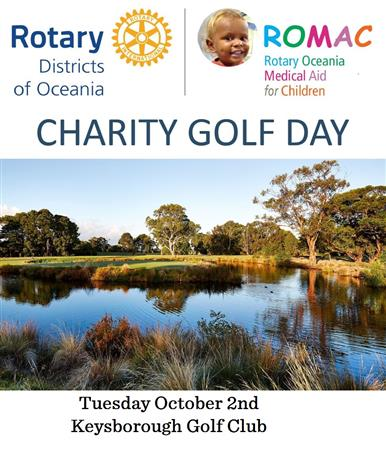 ROMAC Charity Golf Day