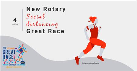NEW Rotary social distancing Great Race