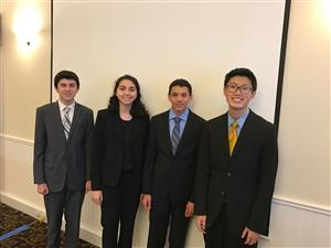 4 students will present on 2019 Rotary theme