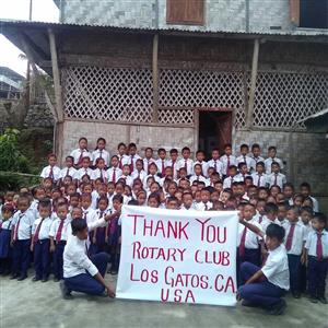 Lamling Vista Elementary in rural Nagaland, India