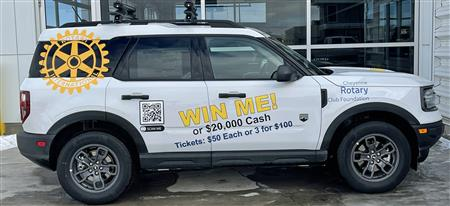 2021 FORD BRONCO SPORT Raffle Tickets - 1 for $50