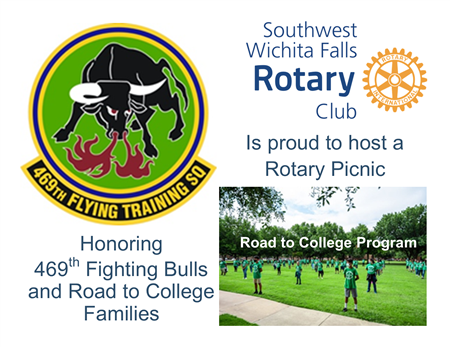 Picnic with USAF 469th & Road to College Families