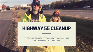 Highway 55 Cleanup on 5/28/20