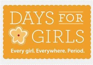 Days for Girls sewing hygiene kits