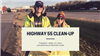 Club Service - Highway 55 Clean-Up