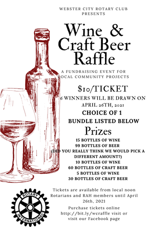 Webster City Wine and Craft Beer Raffle