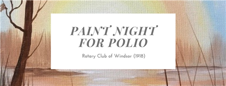 Paint Night for Polio