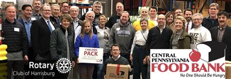 Service Project for Central PA Food Bank May 2021