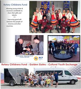 Rotary Childrens Fund and Cultural Exchange Program Golden Gates - Rotary Connects the world