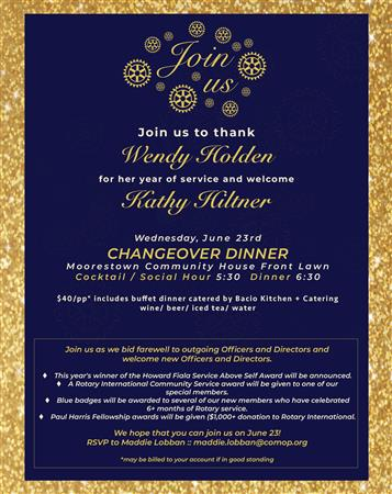 Annual Changeover Dinner