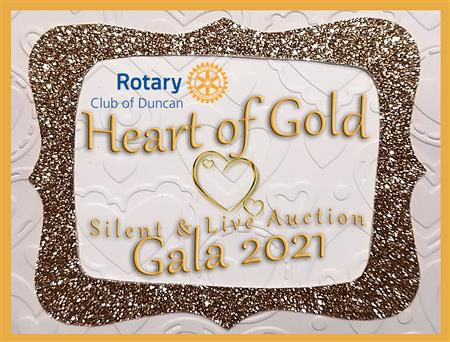 Heart of Gold Live Auction - ZOOM - 7pm to 8pm