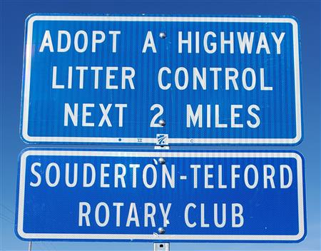 Adopt-A-Highway Trash Collection