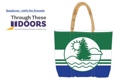 Sea Bag Fundraiser for Through These Doors