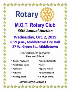 66th Rotary Annual Auction