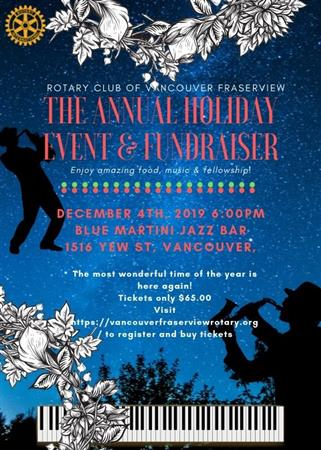 Holiday Event and Fundraiser