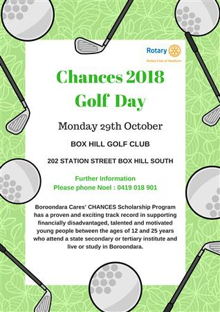 Chances Golf Day: You're Invited