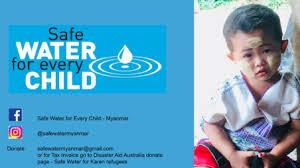 Safe Water for Every Child – Myanmar