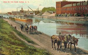 THE BUILDING OF THE ERIE CANAL (1817 – 1825)