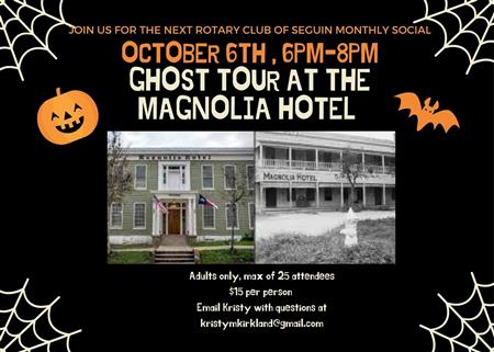 Ghost Tour at Magnolia House